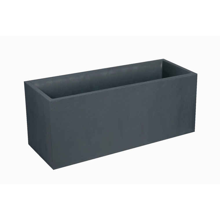 Bac Volcania L100x 40x H40 Anthracite 97,6 litres