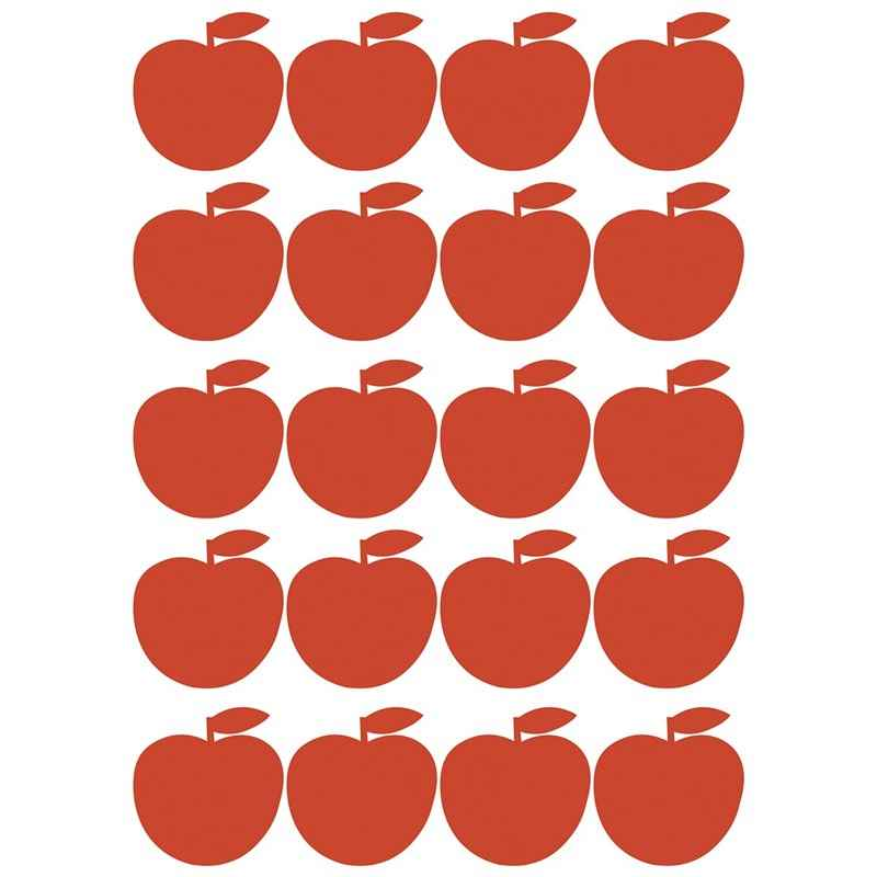 Stickers pommes rouges