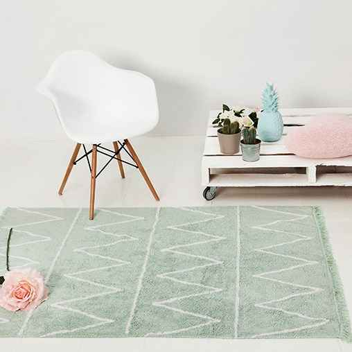 Hippy green by lorena canals tapis 120x
