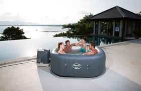 Lay-z-Spa Rond Hawaii Hydrojet Pro - 4/6 places