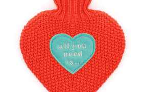 Bouillotte cur All you need is Love