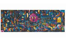 Puzzle gallery 500pcs +8y monster wall d