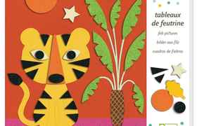 Atelier collages 3-6y douce nature djeco