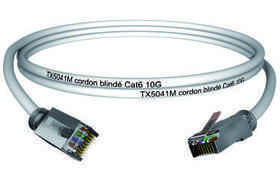 CAE DATA - Cordon U/FTP Cat 6 4P Grade 2 10 m - CORD6F10M