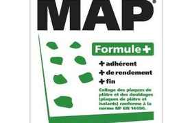 PLACO - Mortier de collage en poudre MAP® Formule+ 25Kg - A88900035