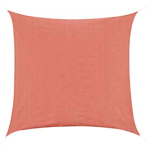 Outsunny Voile d'Ombrage Rouge 3 x 3 m