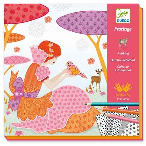 Atelier coloriage frottage 4-8y