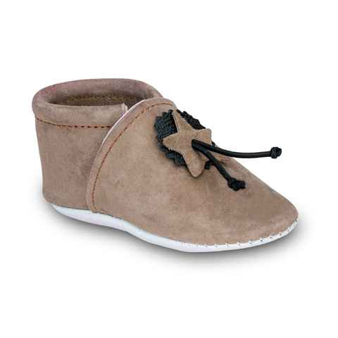 Chaussons souples bebe beige taille 20