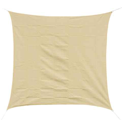 Outsunny Voile d'Ombrage Sable 3 x 3 m