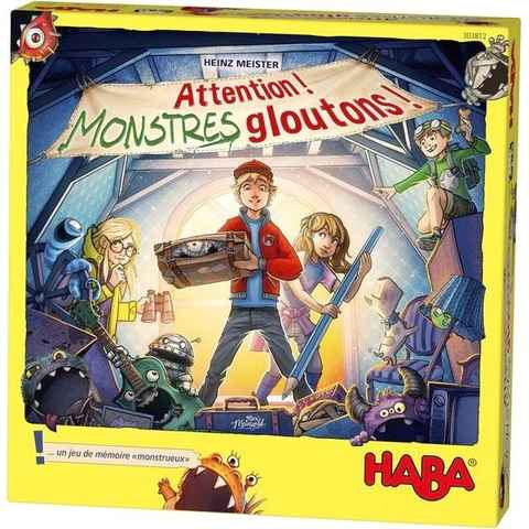 Attention! Monstres gloutons!