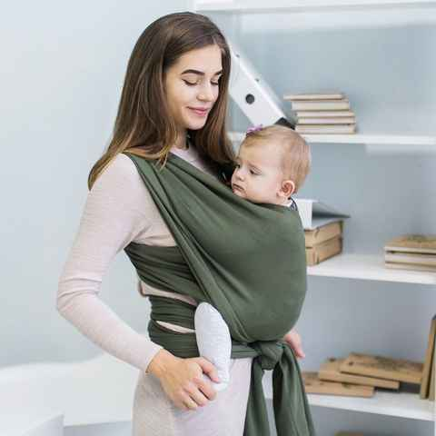 Écharpe extensible olive love and carry