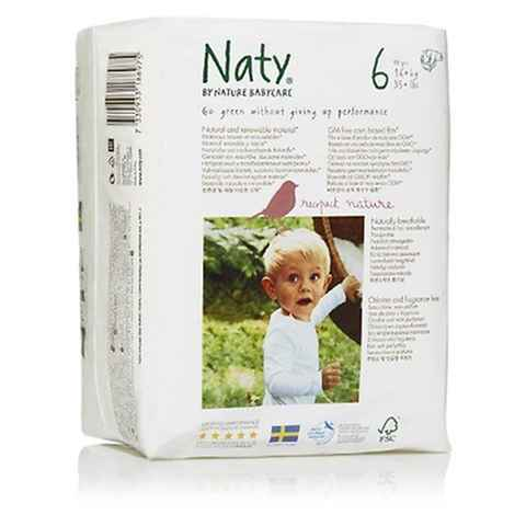 Naty by nature babycare 4 paquets de 18