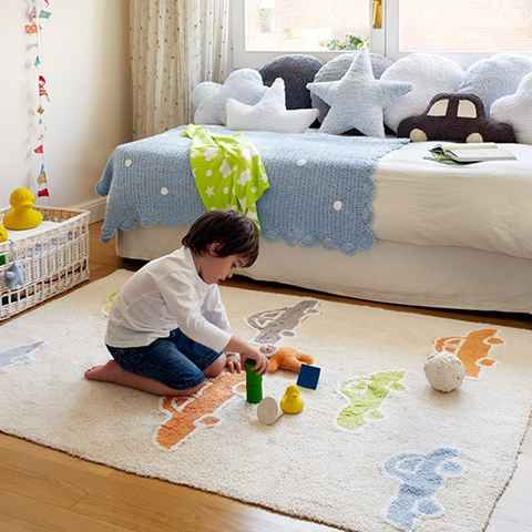 Voitures by lorena canals tapis 100% cot