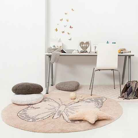Butterfly nude by lorena canals tapis ro