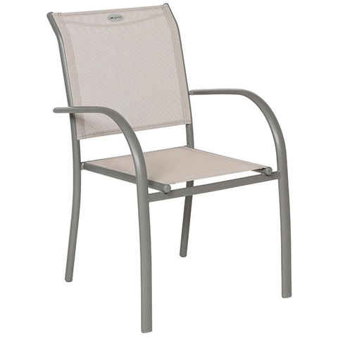Fauteuil Piazza - Taupe et mastic - HESPERIDE