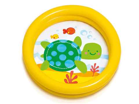 Piscine gonflable ronde Tortue - Intex